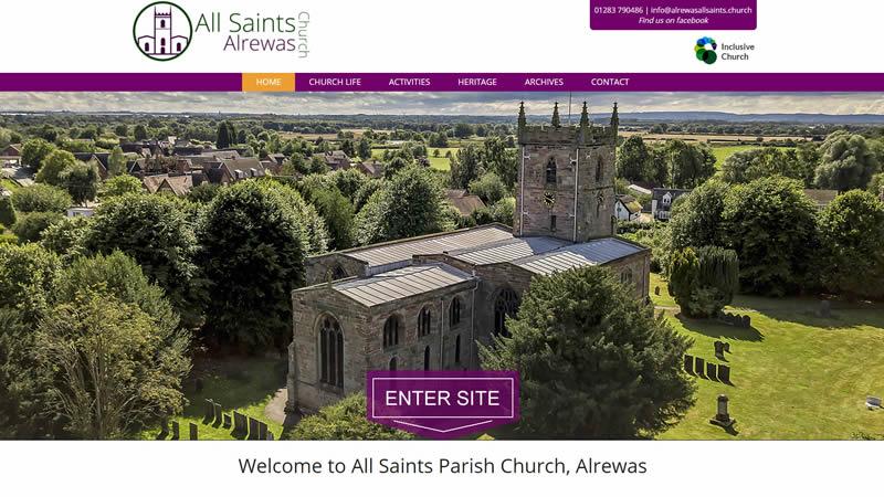 All Saints Church, Alrewas